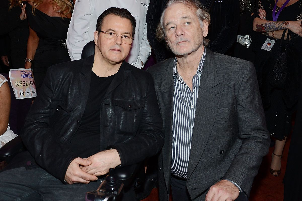 Kerry Simon and Bill Murray. Photo: Denise Truscello/WireImage