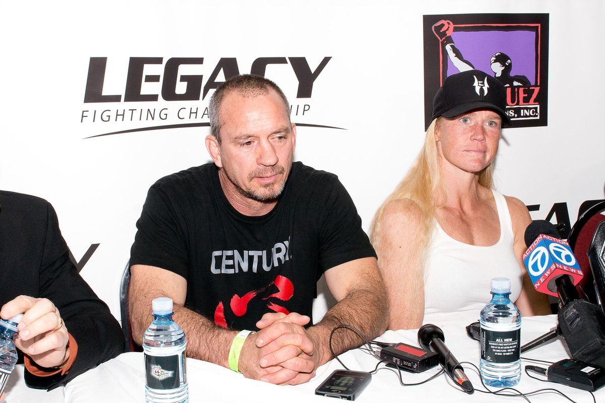 Legacy Fighting Championship Fight With MMA Fighter Holly Holm And Brazilian MMA Fighter Juliana Werner