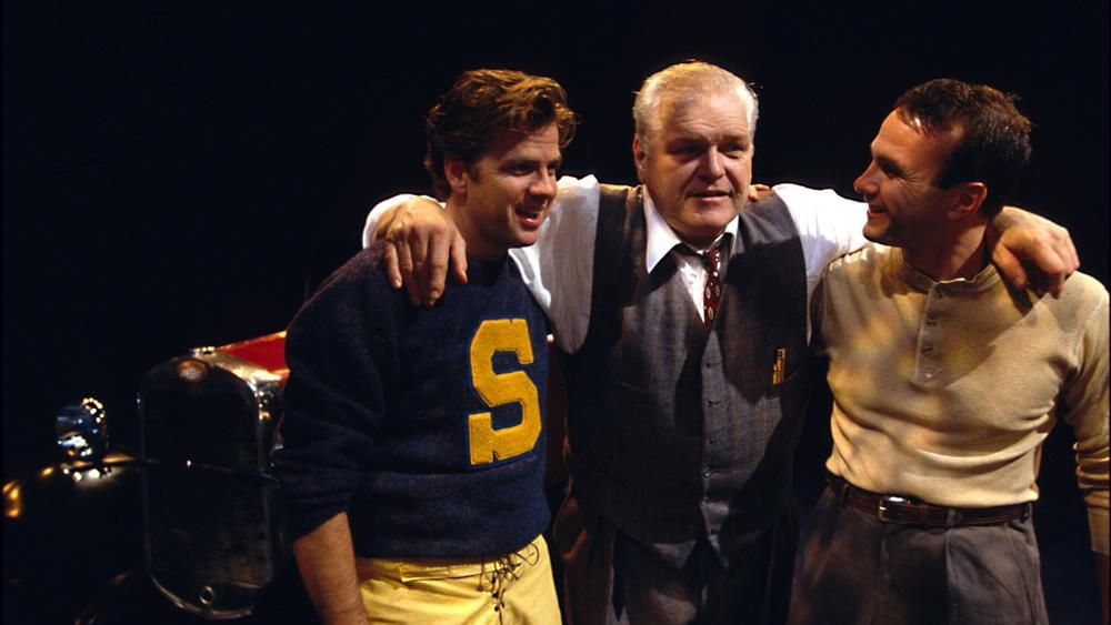 """""""We were walking down the street one day and I looked over at Brian and thought, he's Willy Loman,"""" says Robert Falls, of the day he decided he would direct """"Death of a Salesman,"""" starring his friend and frequent collaborator Brian Dennehy (pictured, cent"""