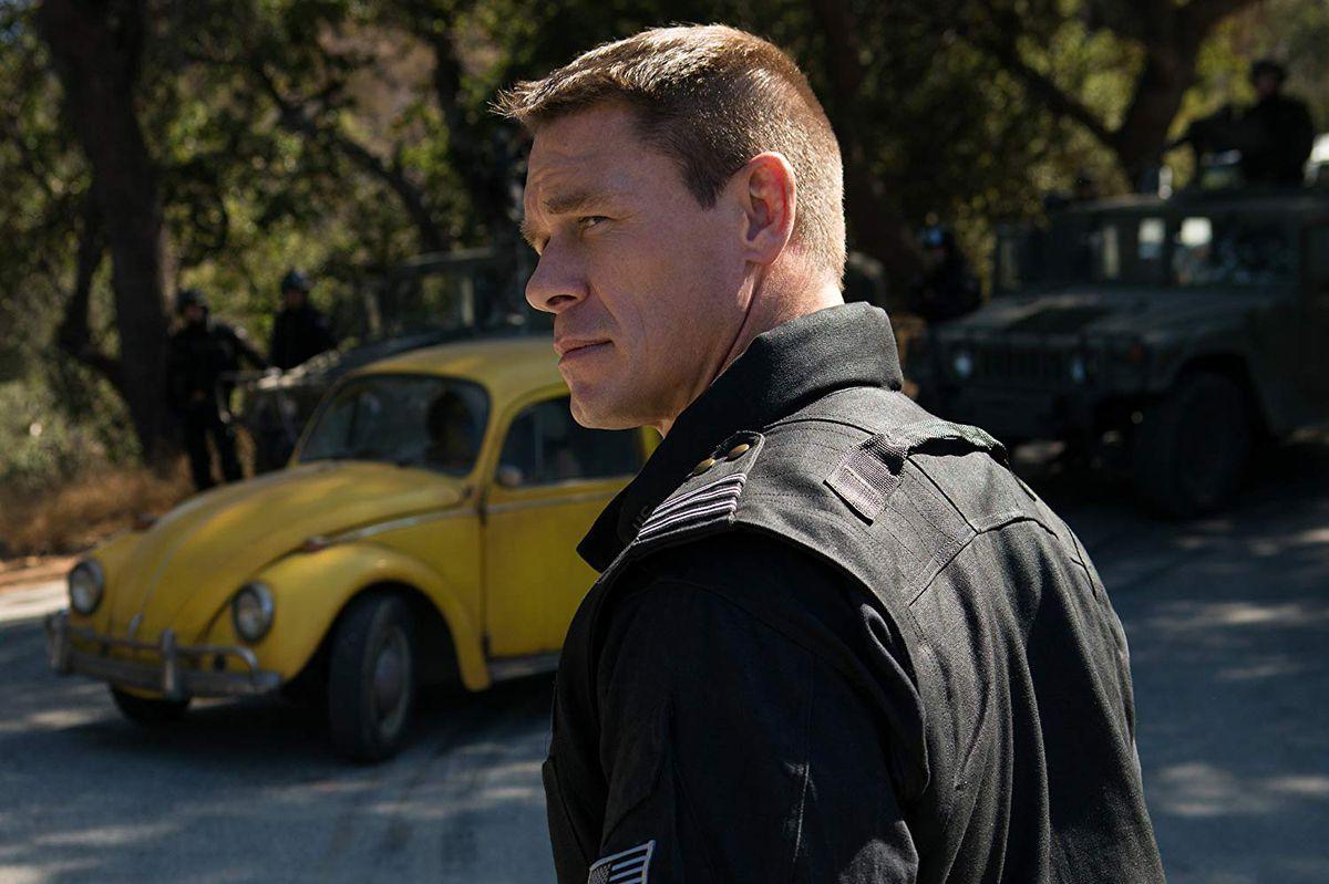 John Cena in Bumblebee.