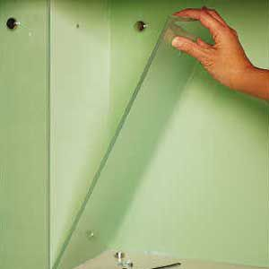 <p>The protective panels can be removed -- carefully -- to repaint the walls</p>