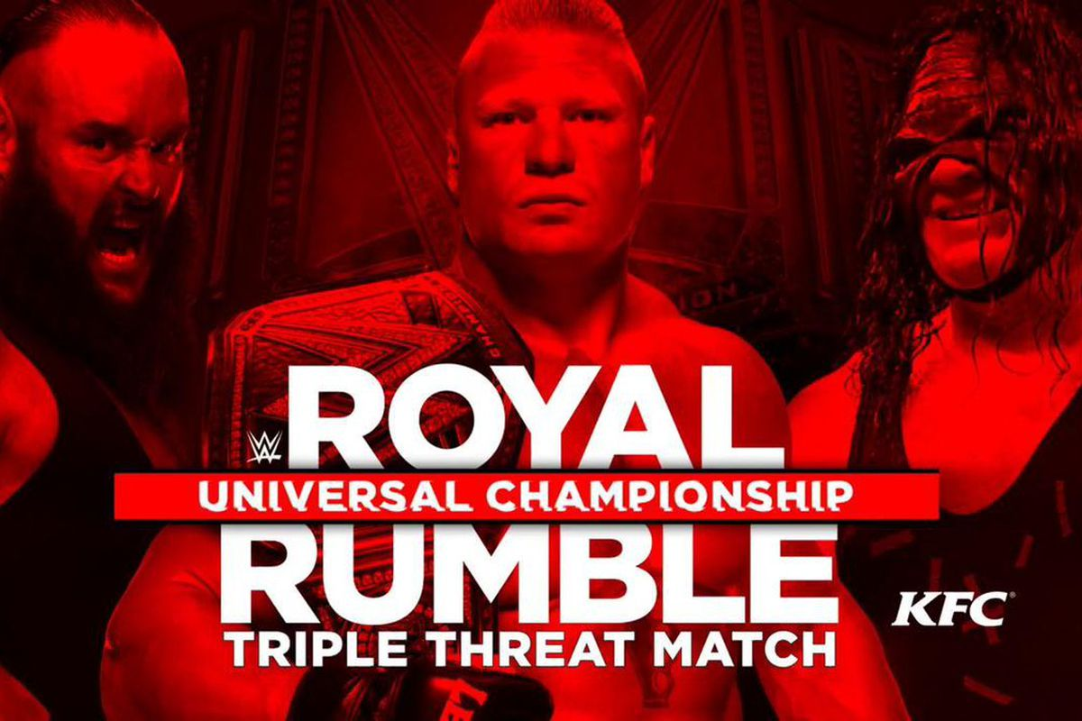royal rumble 2018: time, tv schedule, and matches for wwe ppv event
