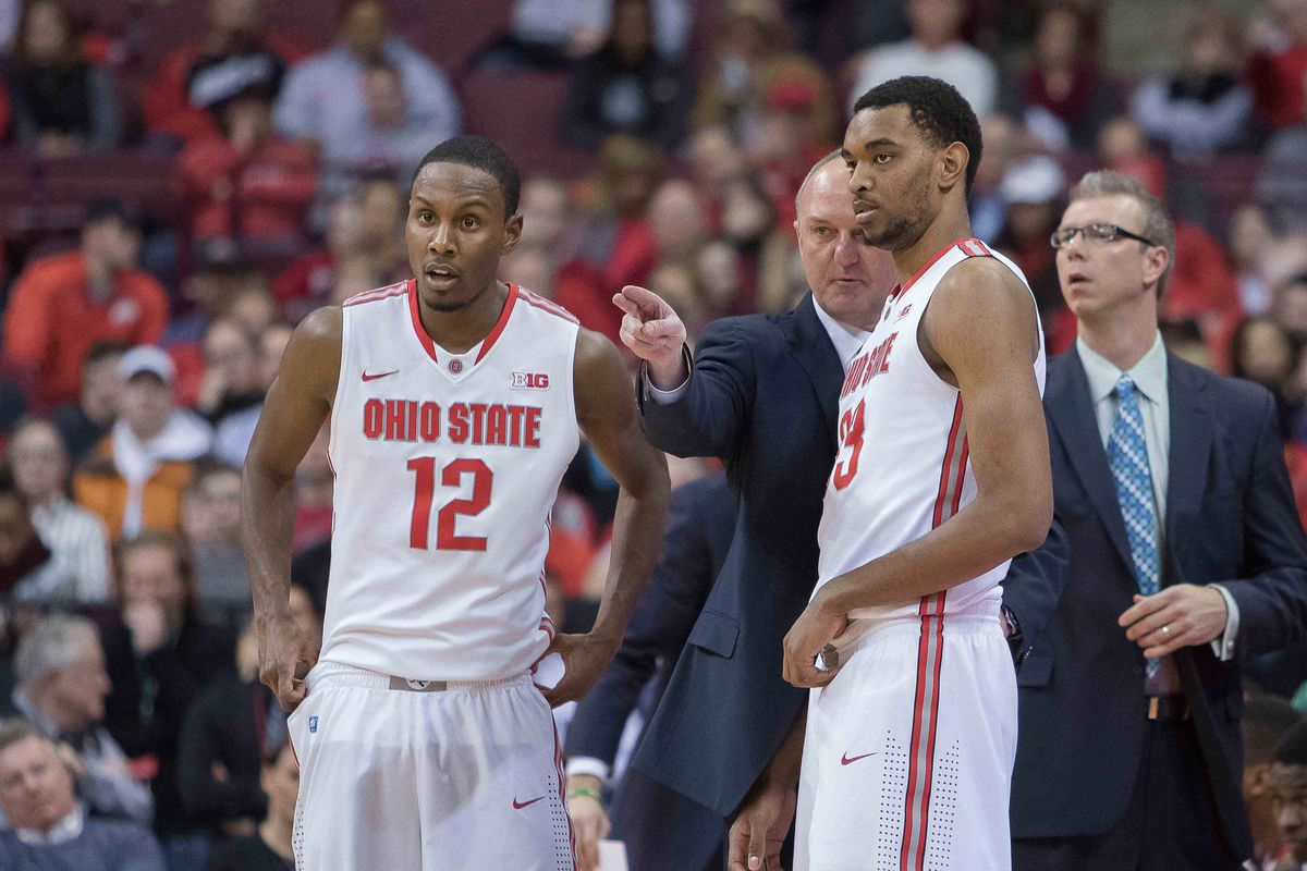 Thad Matta and the Buckeyes will try for a huge win over Wisconsin