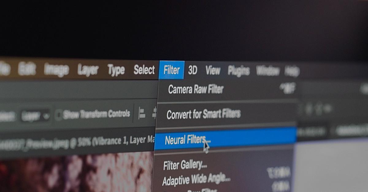 Adobe Neural Filter: 이미지 편집 패러다임의 변화