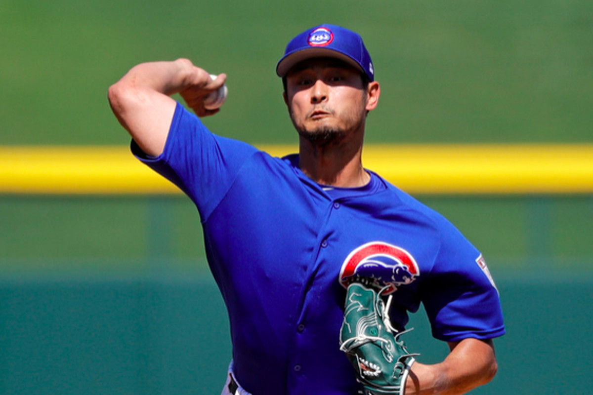 36dedab85 Cubs  Yu Darvish finishes spring healthy and smiling