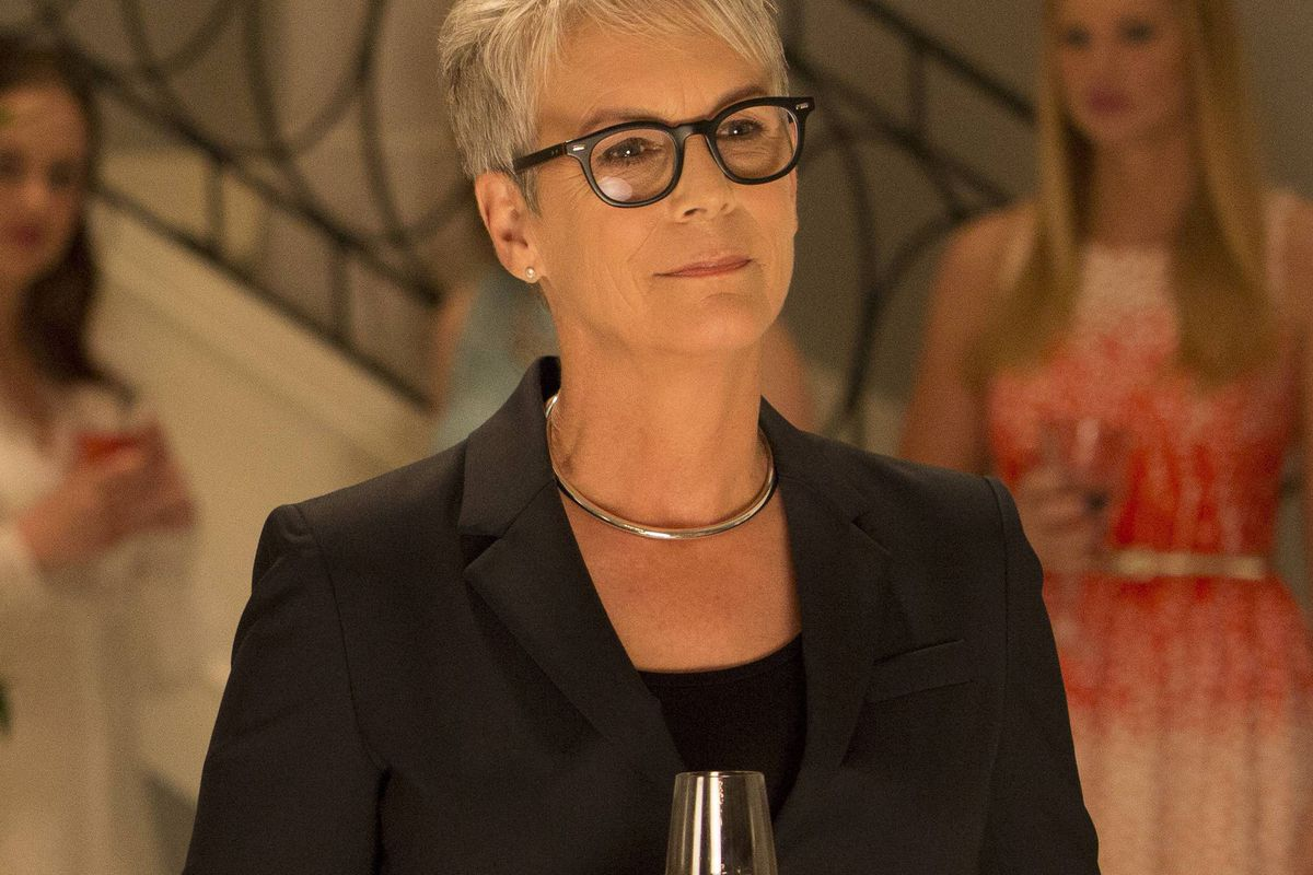 Jamie Lee Curtis stars in the new Fox horror comedy Scream Queens.