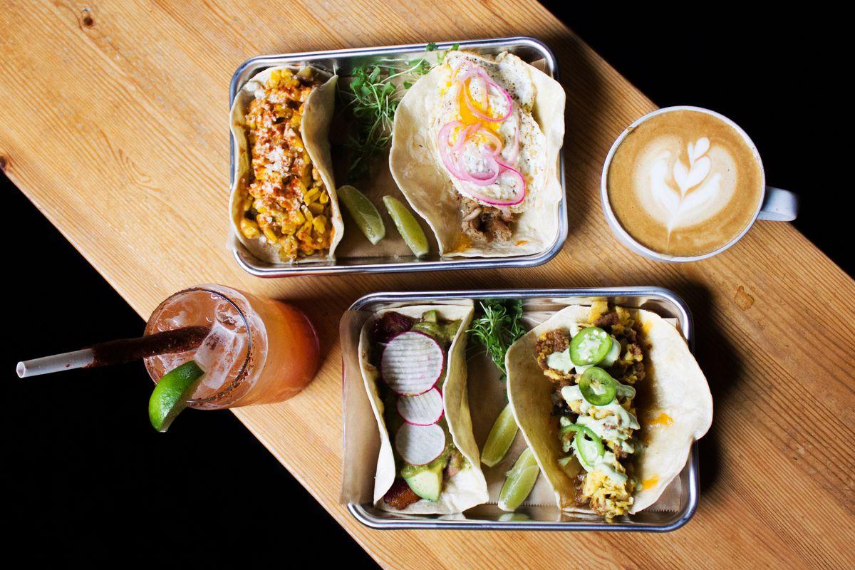 Pepita Coffee menu spread