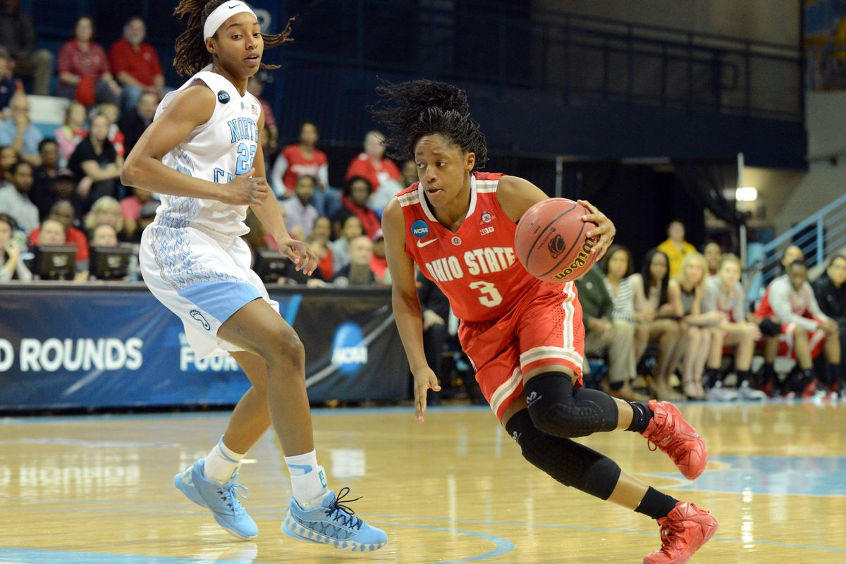 Ohio State's Kelsey Mitchell scored 42 points vs the Ags