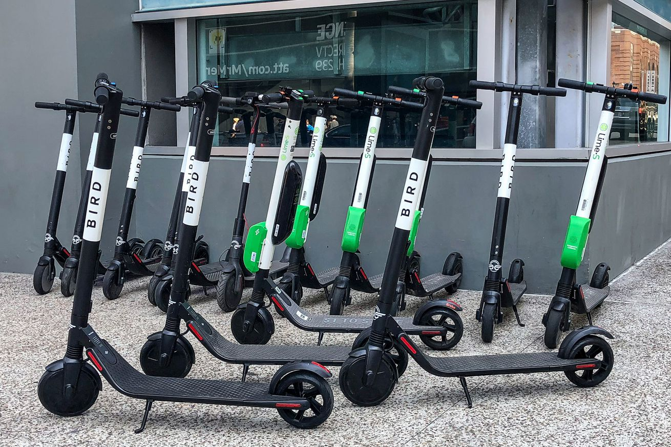 electric scooters are inspiring lazy people to get creative