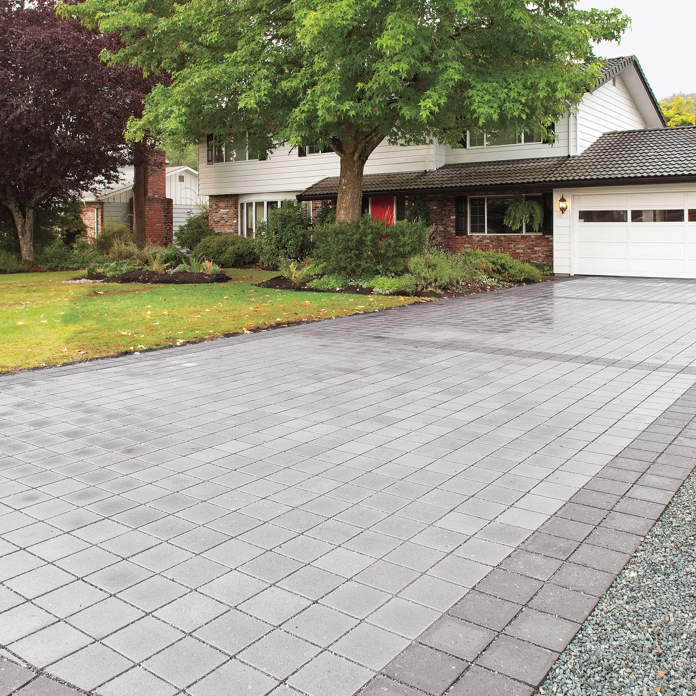 Driveway Pavers Installing Permeable Pavers In 6 Steps This Old House