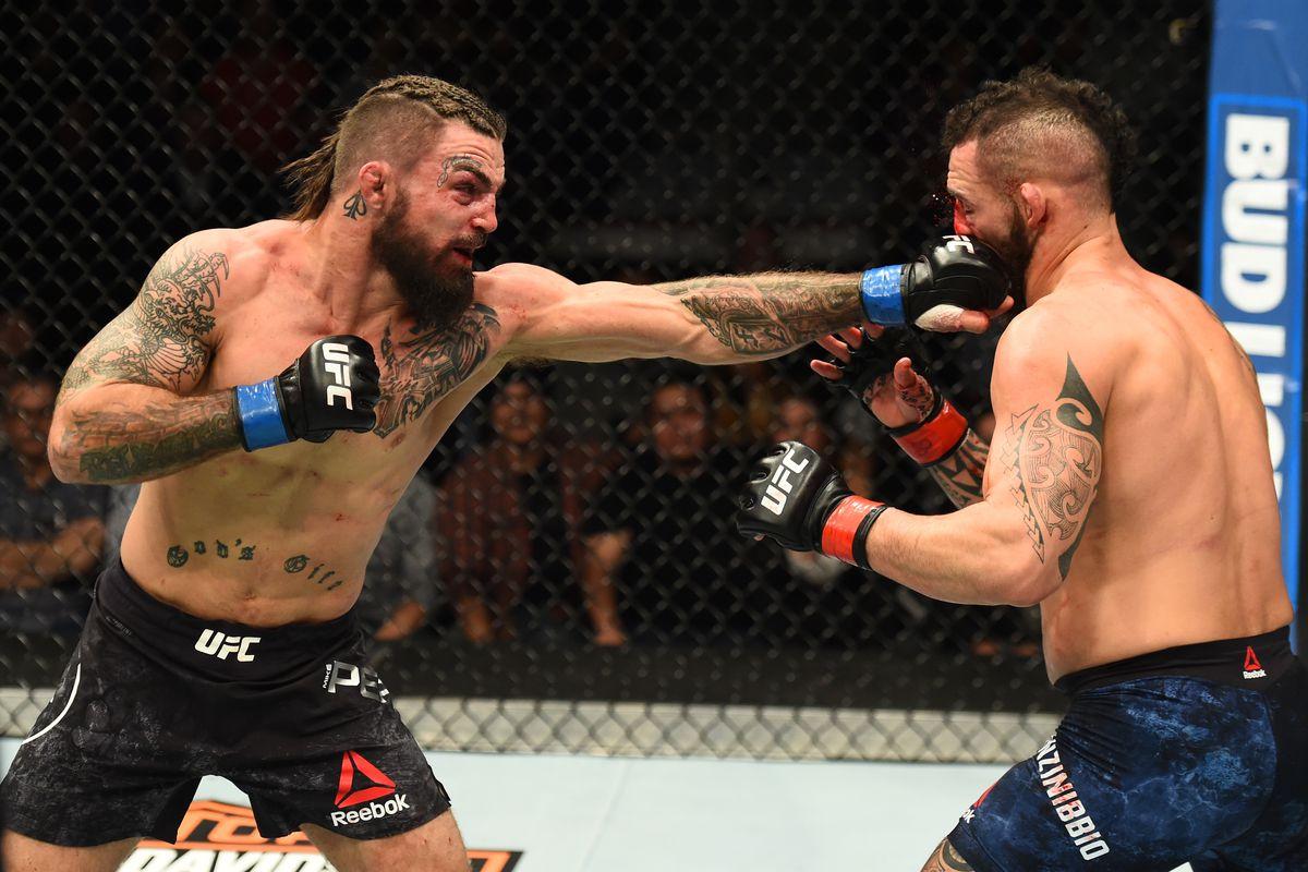 UFC Fight Night: Ponzinibbio v Perry