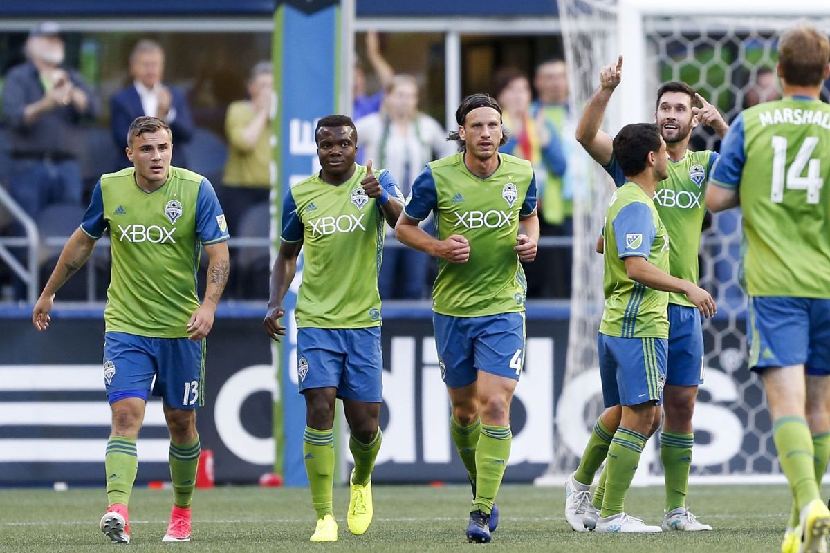 MLS: Orlando City SC at Seattle Sounders FC