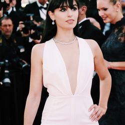 """At the premiere of """"From the Land of the Moon"""" wearing Rhea Costa and Chopard."""