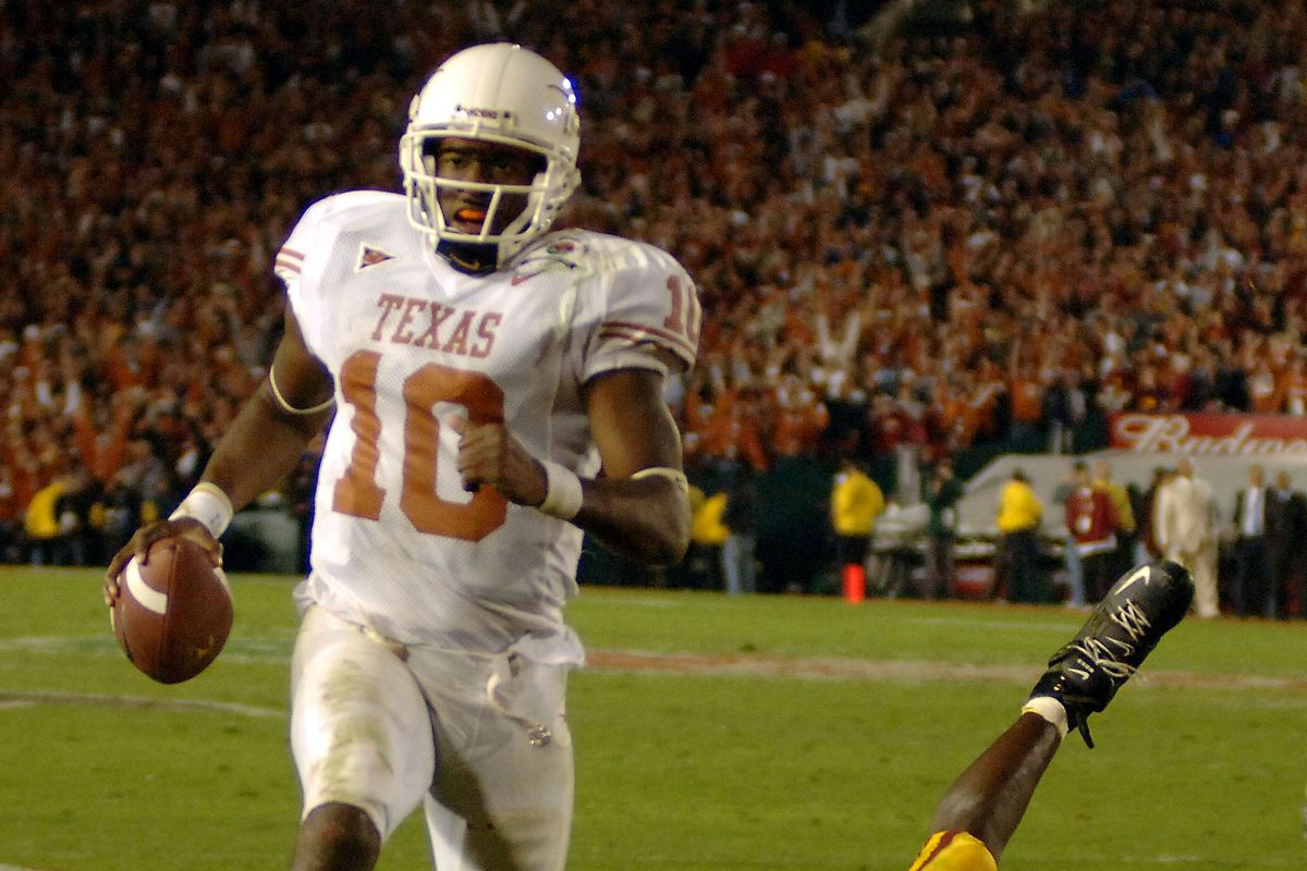 Vince Young can add 'Revolutionary' to his impressive college resume after his 2006 Rose Bowl performance.