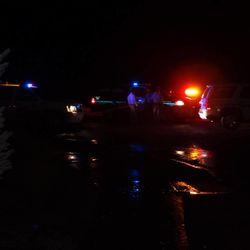 Flash flooding in Saratoga Springs.