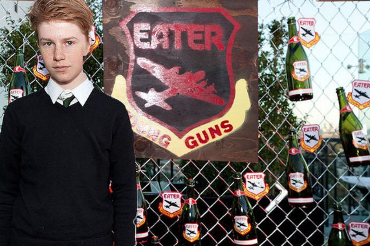 [Flynn at the 2012 Eater Young Guns Party]