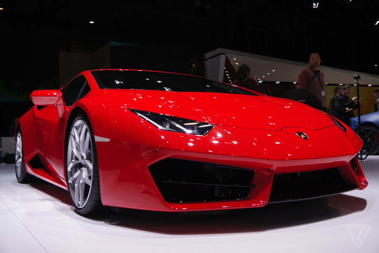 I Love This Ferrarired Lamborghini The Verge - Red sports car