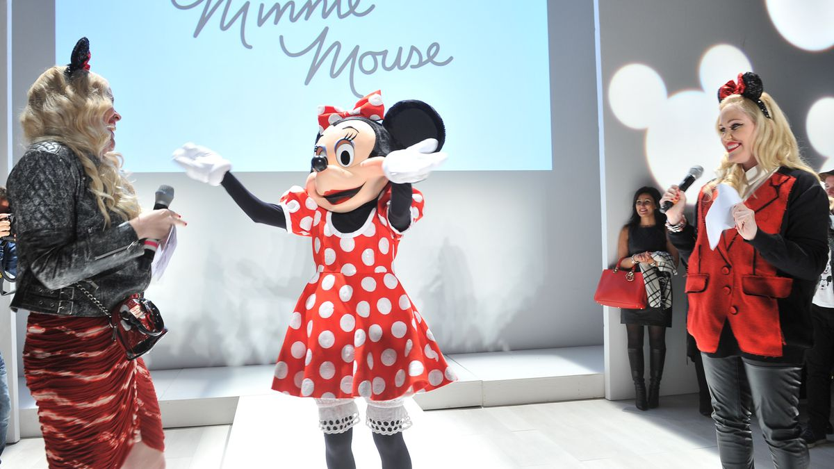 Minnie is lauded at the Pandora jewelry show at World MasterCard Fashion Week in Toronto.
