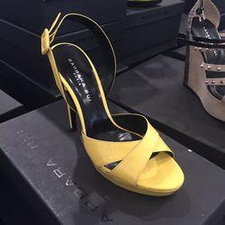 Yellow heels, $87