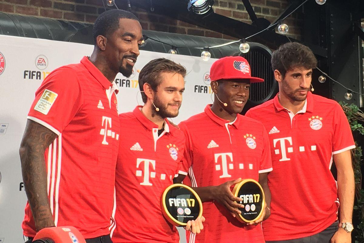 Bayern s David Alaba and Javi Martinez talk FIFA MLS and the