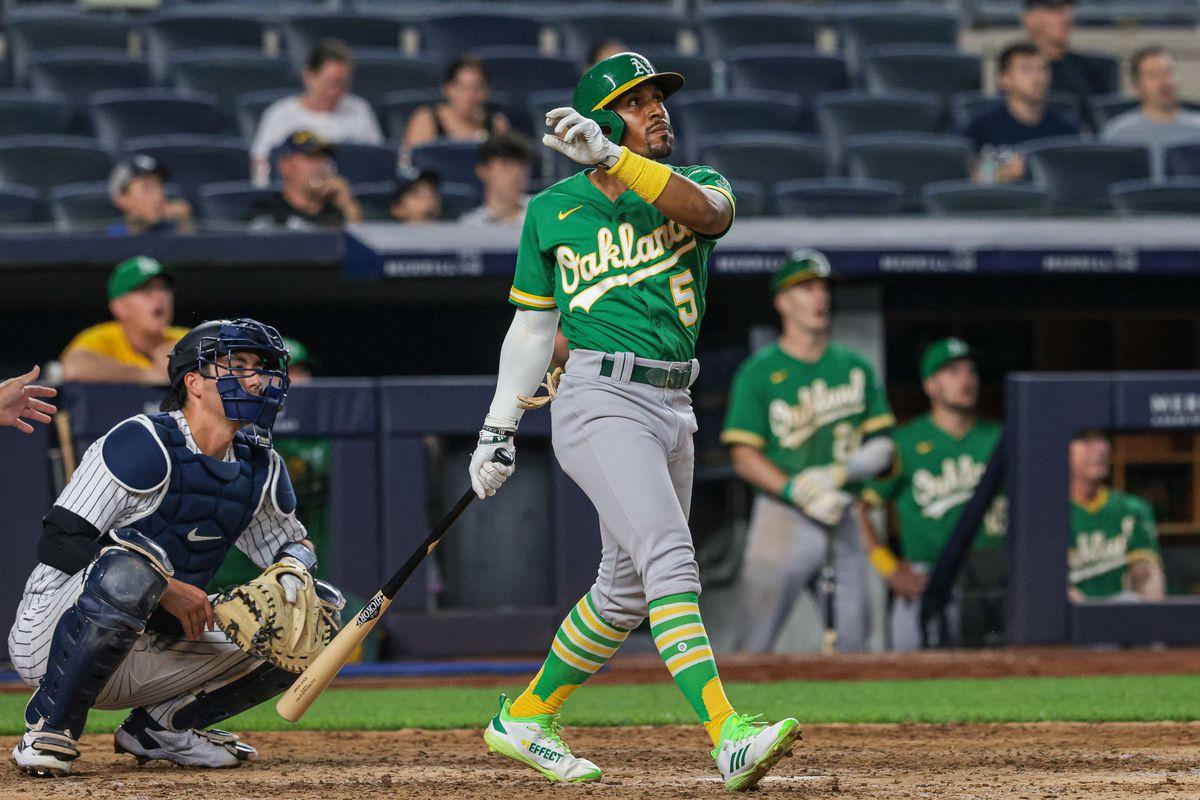 MLB: Oakland Athletics at New York Yankees