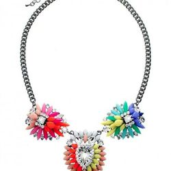 Statement Necklace by EntraNY. Told you it was fun.