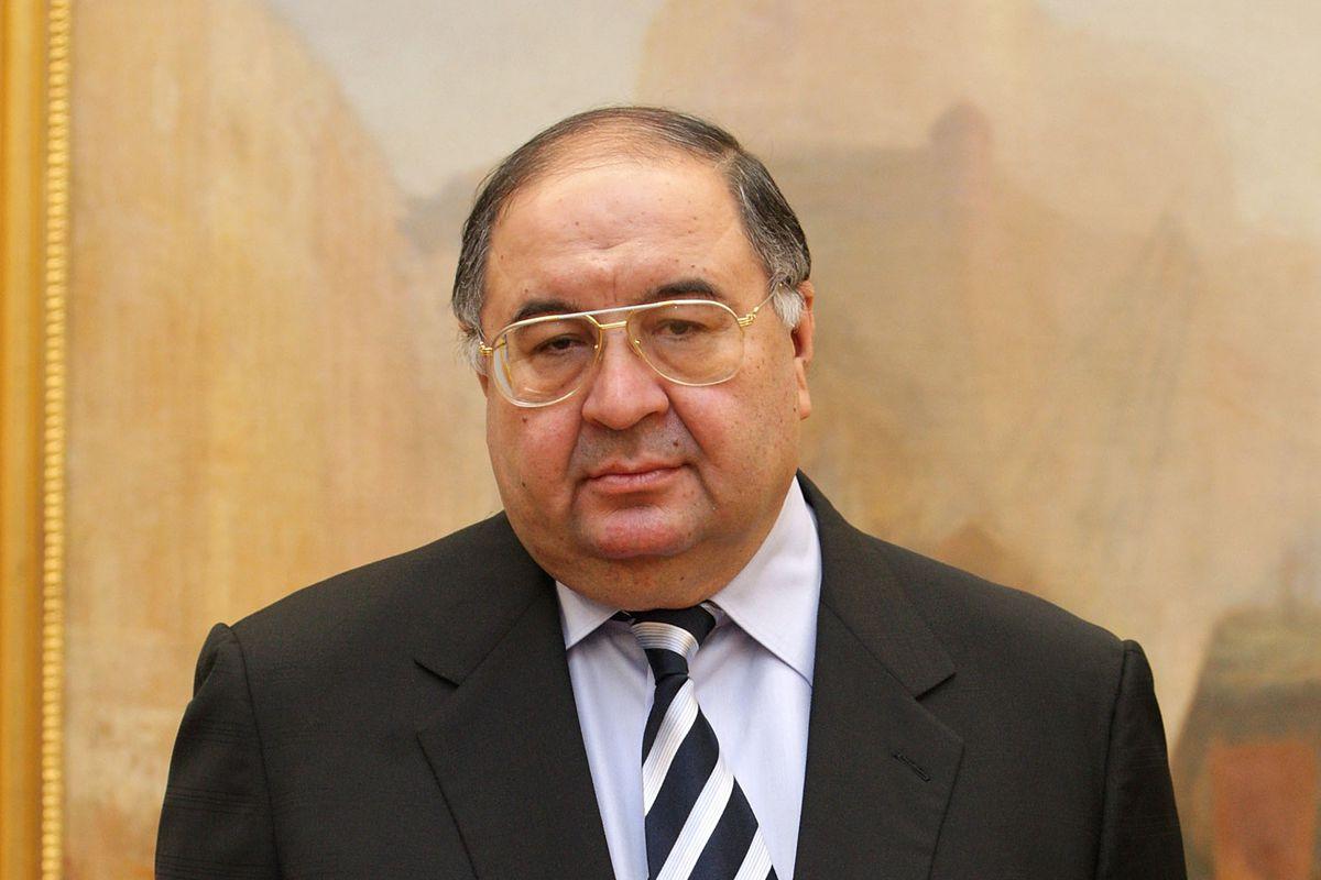 Arsenal part-owner and Moshiri's business partner, Usmanov