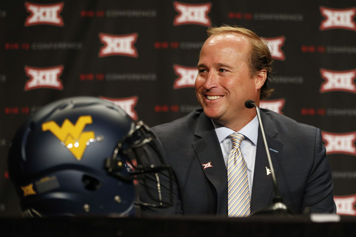 Holgorsen answers questions at Big 12 Media Days