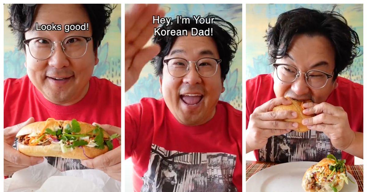 This SF Coffee Shop Owner Has Reached <b>TikTok</b> Stardom as 'Your Korean Dad' thumbnail