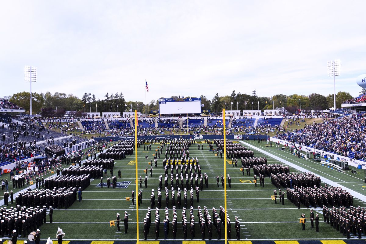 COLLEGE FOOTBALL: OCT 19 USF at Navy