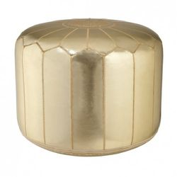 Pouf in Gold $59.99 Available at Target.com only