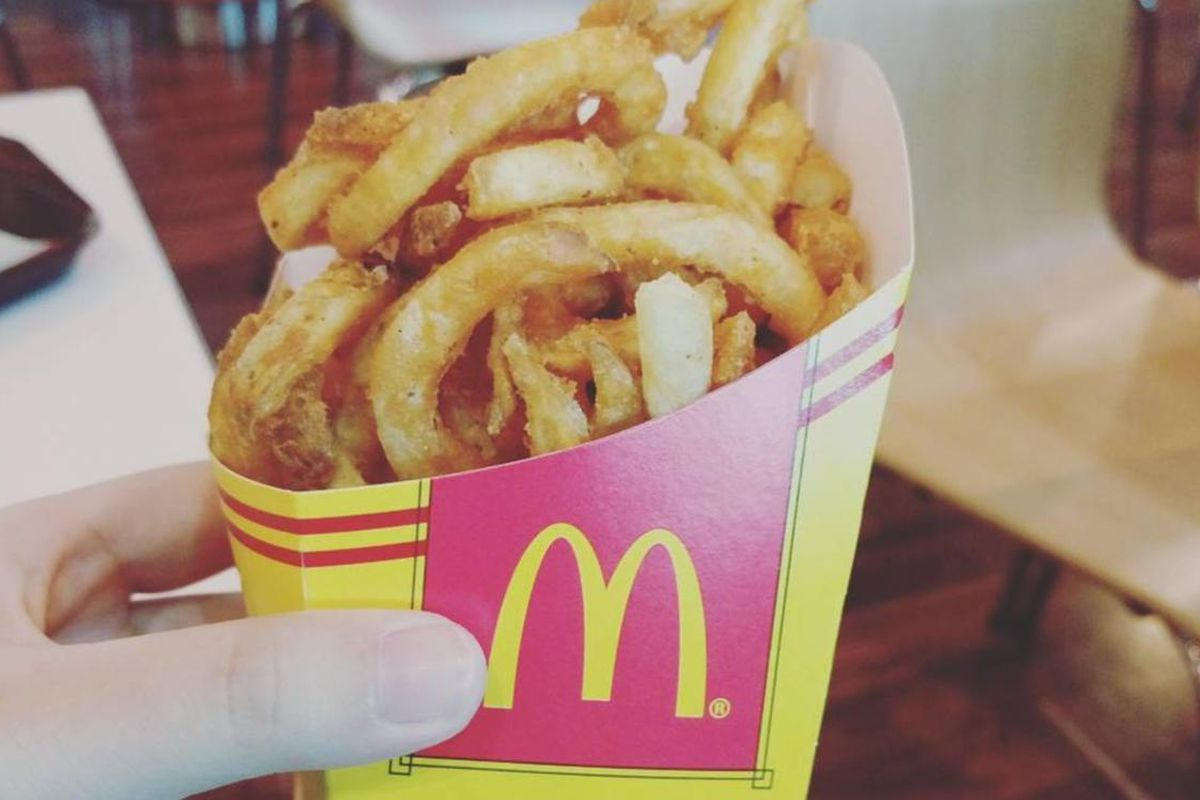 McDonald's recently launched Twister Fries to its menu in both Singapore and the Philippines.