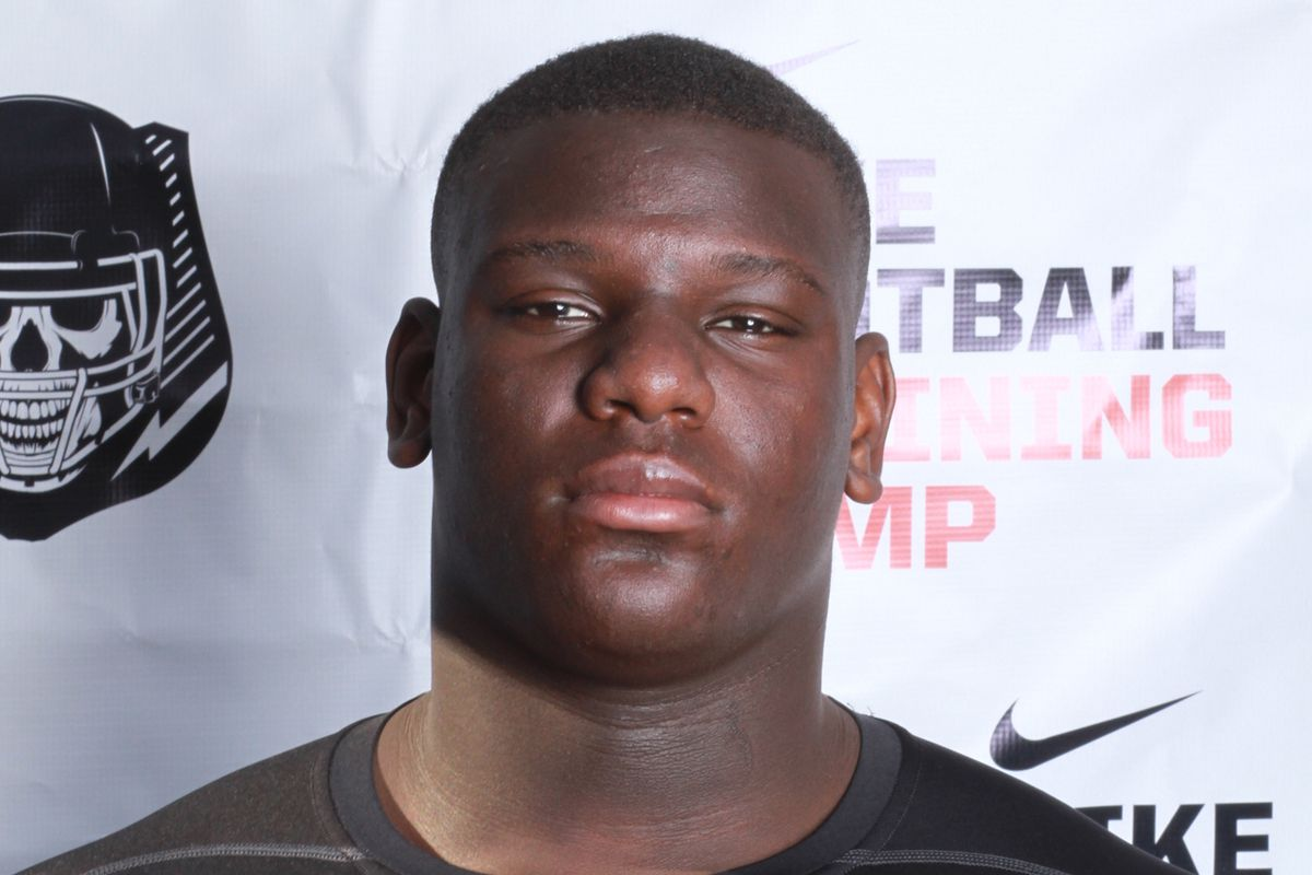 Poona Ford at a Nike camp