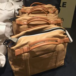 Leather bags, $250