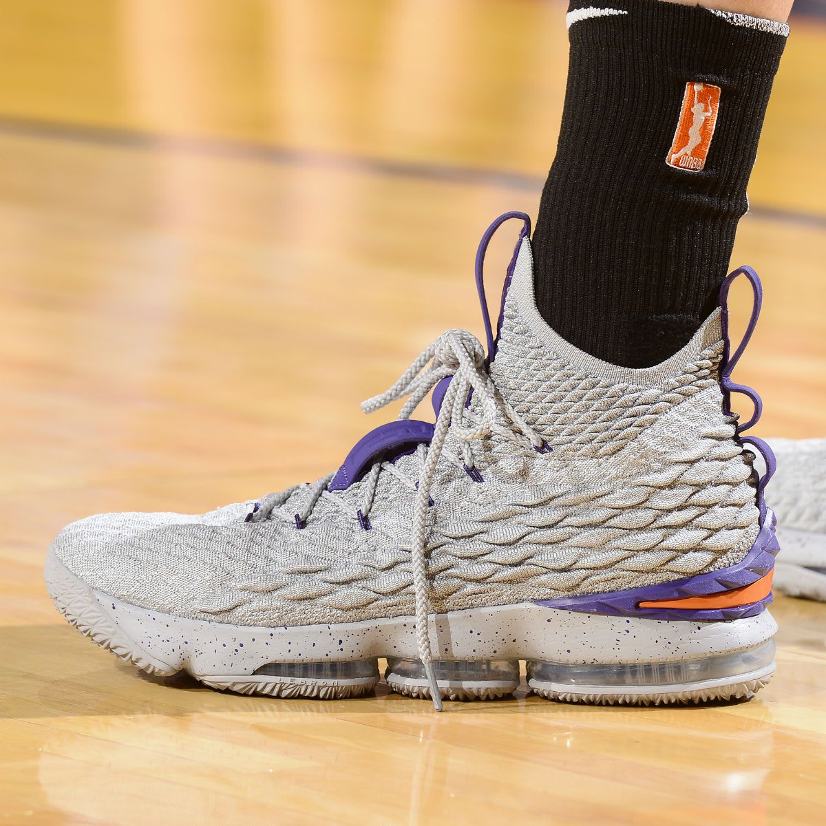 cea716136b17 Diana Taurasi has the best collection of LeBron 15 sneakers ...