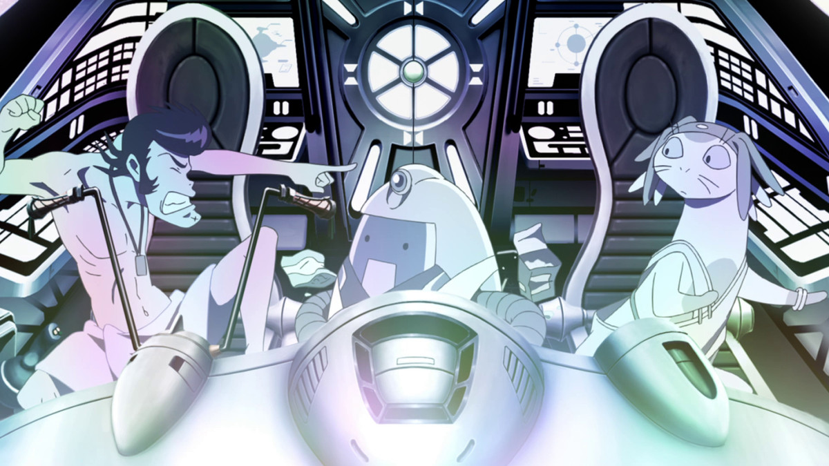 Space Dandy crew