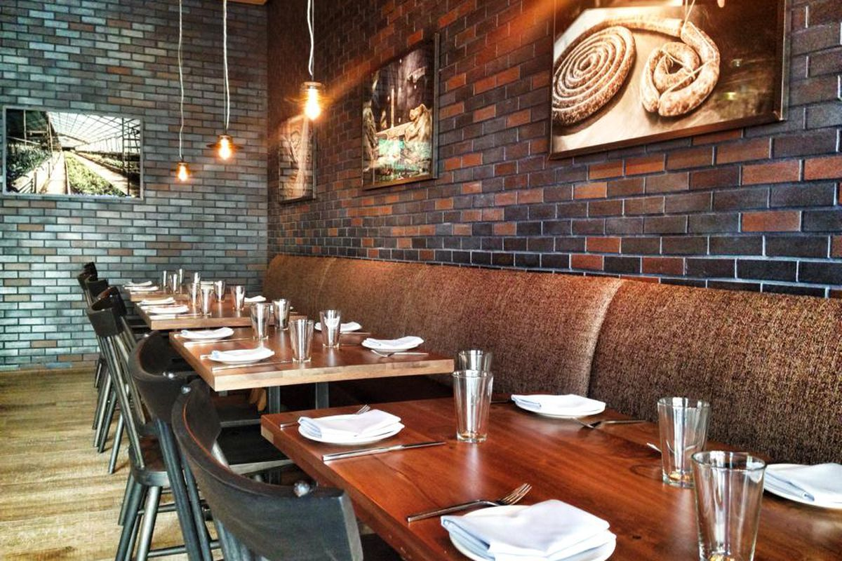 """The new owners will not """"reinvent the wheel"""" when it comes to the former AF+B space's rustic interior."""