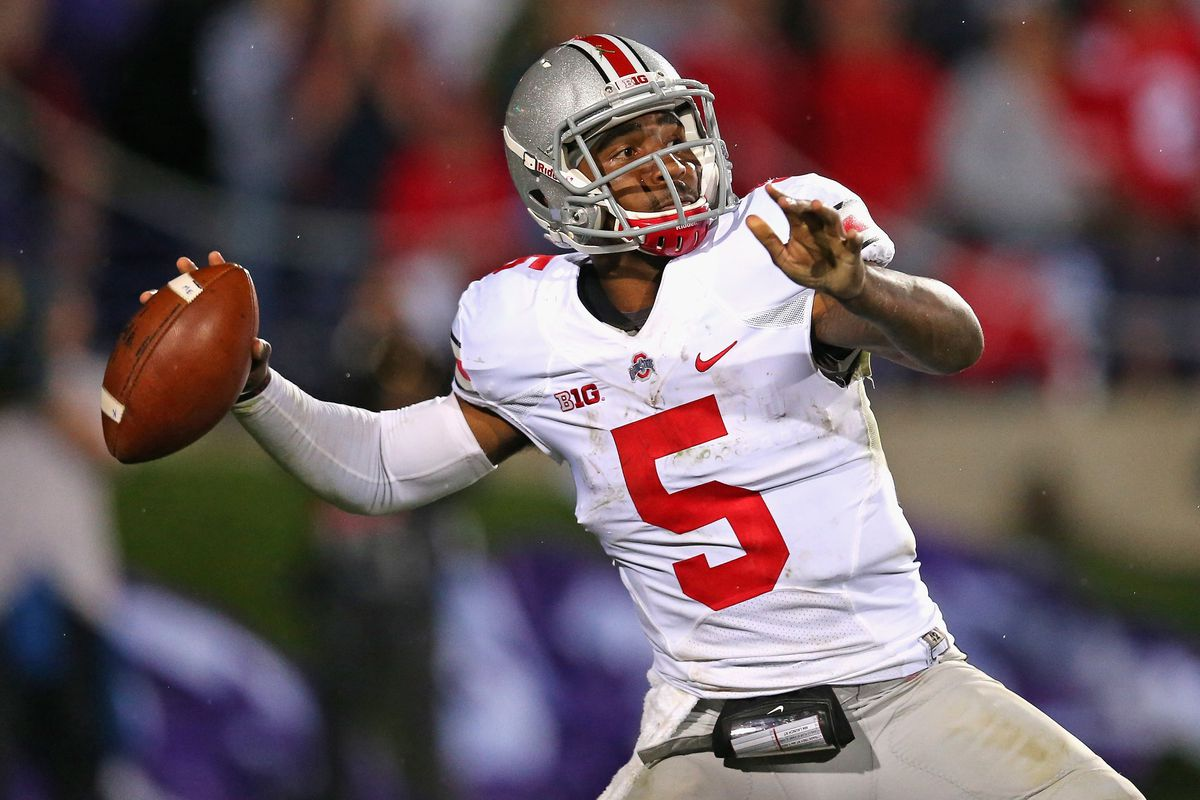 Braxton and Ohio State will be wearing their traditional road garb.