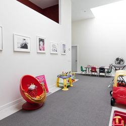 The babysitting room