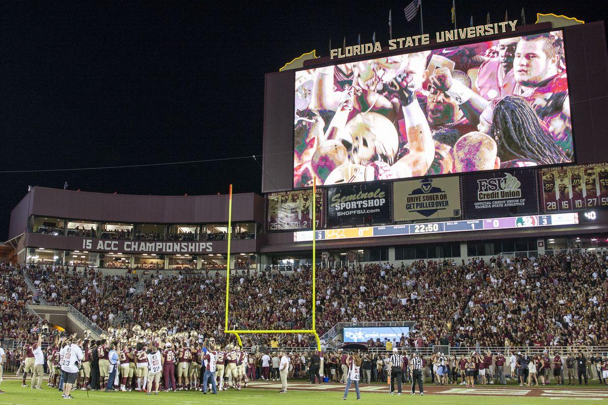 NCAA FOOTBALL: OCT 29 Clemson at Florida State