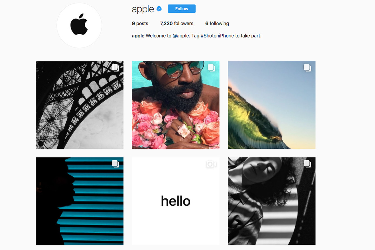 Apple launches official Instagram account to show off iPhone photographers   work b6ff1aab66e