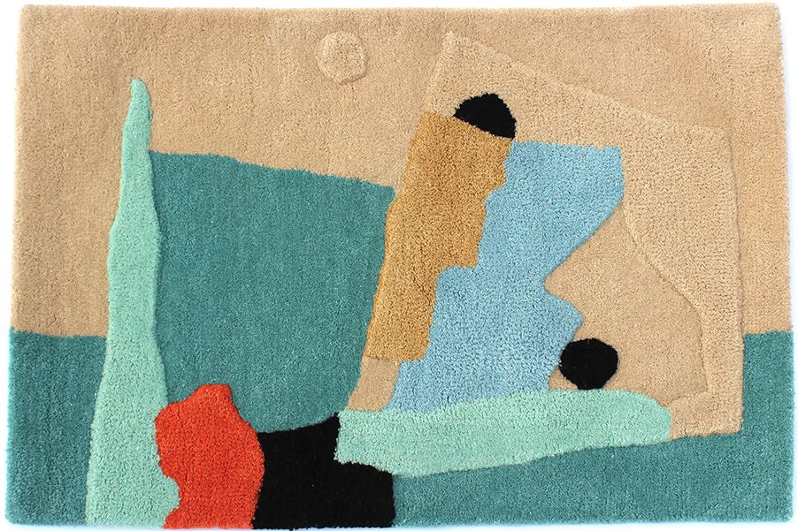 Cold Picnic And Minna Are Making Abstract Rugs Bathmats