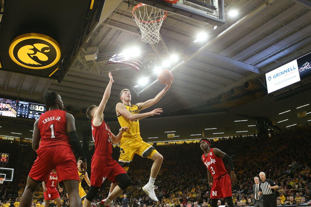 NCAA Basketball: Nebraska at Iowa