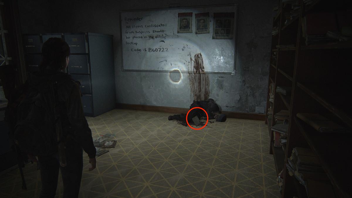 Lt. Torres Final Memorandum Artifact collectible The Last of Us Part 2 Seattle Day 1 (Ellie)