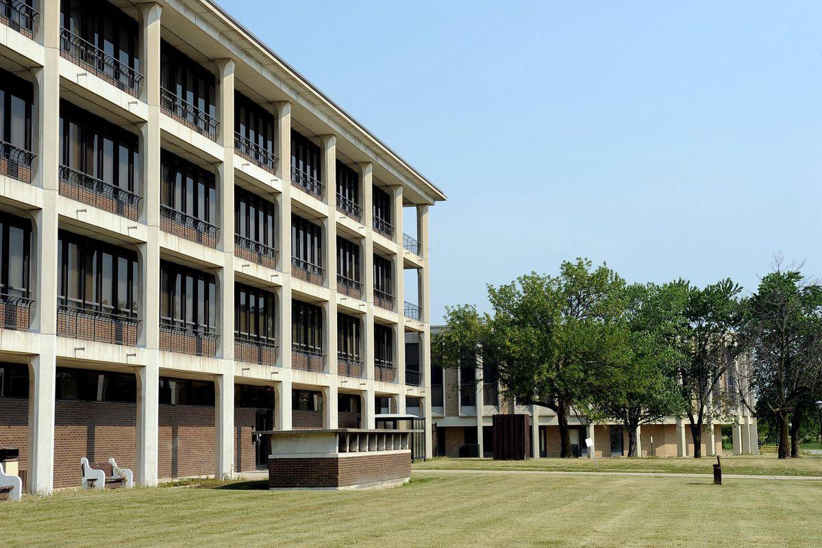 The shuttered Tinley Park Mental Health Center