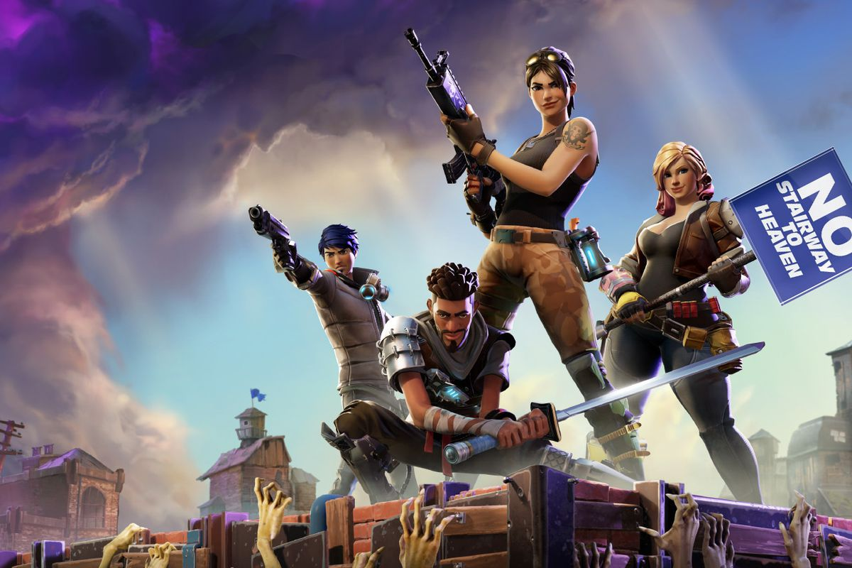 Want to win a game of Fortnite: Battle Royale? Try building a
