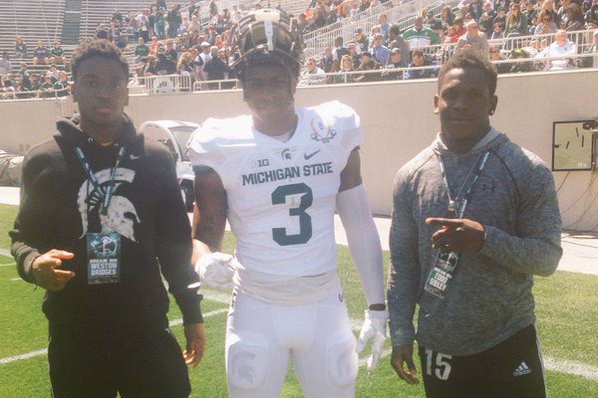 OSU commit Todd Sibley (Right)
