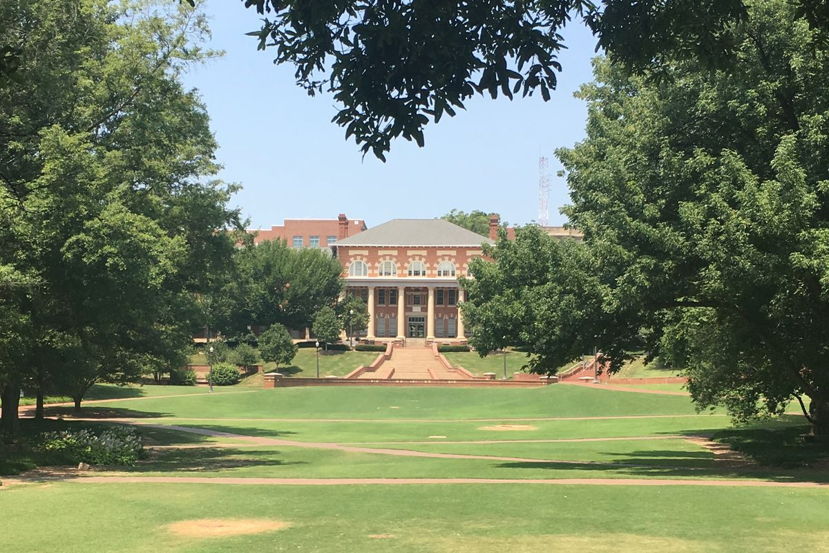 This is the Old Main Building