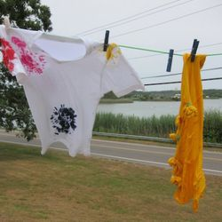More tie-dying.