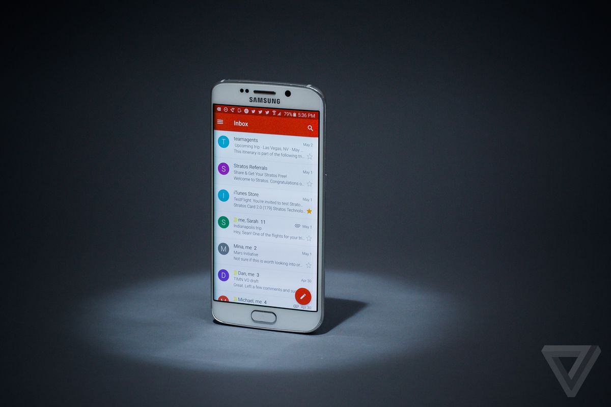 Gmail may have self-destructing